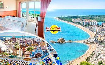 Španělsko, Barcelona/Katalánsko, zájezd na 10 dní pro 1 osobu - ubytování, polopenze, program