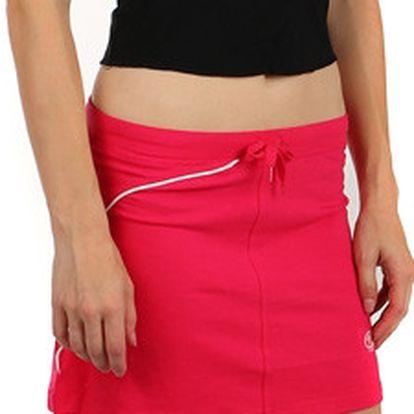 Krátká dámská sportovní sukně růžová