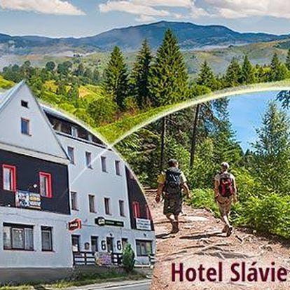 Šumava - Železná Ruda, 3 či 4 dny pro dva v hotelu Slávie včetně snídaní nebo polopenze