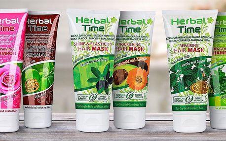Přírodní přípravky na vlasy od Herbal Time