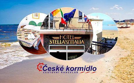 8–10denní Itálie*** (Rimini) | DÍTĚ ZDARMA | Polopenze | Písečná pláž 50 m od hotelu | Autobusem nebo vlastní doprava