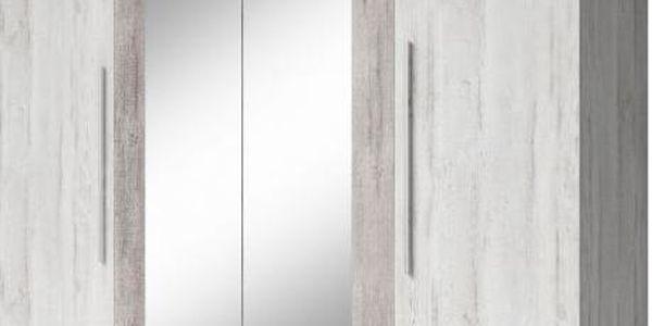 Šatní skříň se zrcadlem Veria - bca