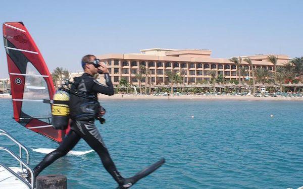 Egypt - Hurghada na 8 dní, all inclusive s dopravou letecky z Prahy nebo vídeň