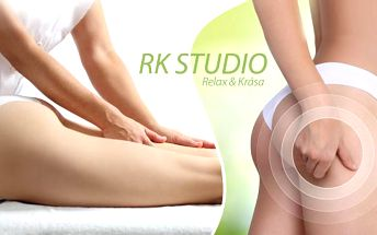 120min. ruční lymfatická masáž + anticelulitidní masáž a zábal v Plzni