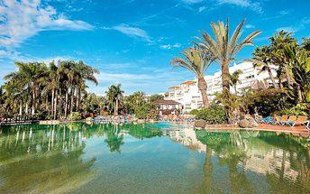 Kanárské ostrovy - Gran Canaria na 10 až 13 dní, all inclusive s dopravou letecky z Košic 3 km od pláže