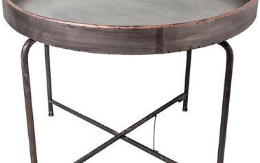 Kovový odkládací stolek Fer, 64 cm - doprava zdarma!