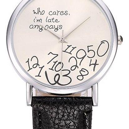 Analogové dámské hodinky - Who Cares