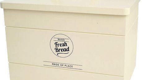 Dóza na chleba T&G Woodware Pride of Place, krémová - doprava zdarma!