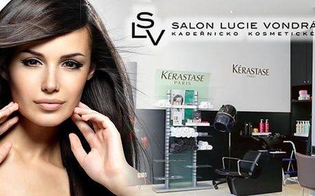 Dopřejte si kadeřnickou péči s kosmetikou Kérastase v Salonu Lucie Vondráčková v Praze. Zvolte si balíček se střihem, barvením či melírem a profesionální kadeřnice se postarají o vše ostatní.