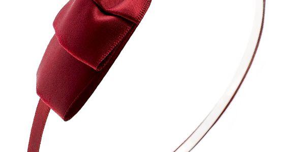 Fashion Icon Čelenka do vlasů s mašlí dvojitá