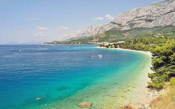 8denní pobyt pro 1 osobu v chorvatském letovisku Tučepi