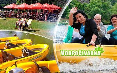 Půjčení motorového člunu na Vltavě na 60 minut až pro 4 osoby + možnost maxi Cuba Libre