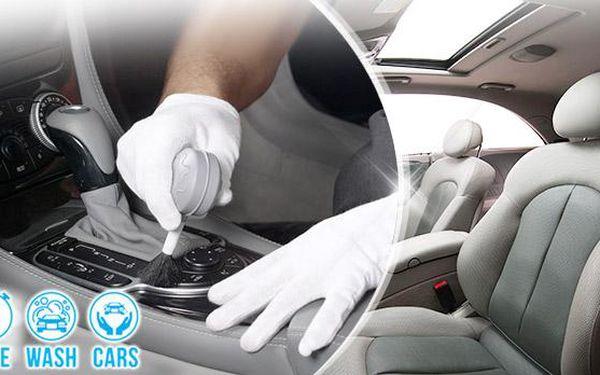 Kompletní ruční čištění vozu: interiér včetně tepování sedaček, kvalitní autokosmetika. Praha 9