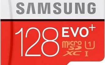 Samsung 128GB UHS-I U1 (80R/20W) + adapter (MB-MC128DA/EU)