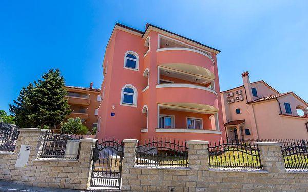 Chorvatsko - Apartmány 1318-519 - Riviéra Medulin / bez stravy, vlastní doprava, 14 nocí, 5 osob