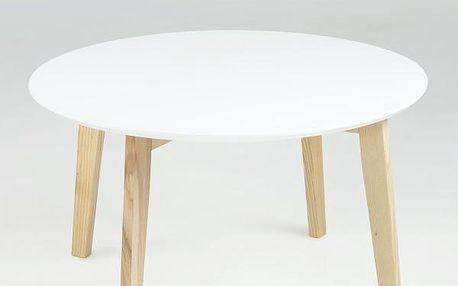 Odkládací stolek Molina, bílý - doprava zdarma!
