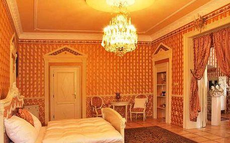 Až 2 romantické noci na zámku Letovice pro dva