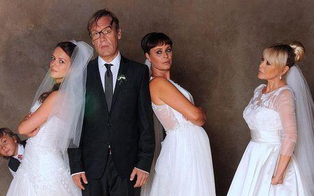 Dvě vstupenky na český film Jak se zbavit nevěsty