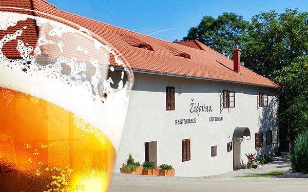 2–3denní pobyt pro 2 osoby se snídaněmi v hotelu Židovna ve středních Čechách