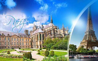 Paříž, Versailles a Remeš 16-20/11: zájezd pro 1 osobu s dopravou a 2x ubytováním a snídaní