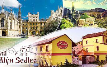 Morava: pobyt pro 2 osoby, 3 nebo 4 dny, snídaně a neomezená konzumace vína
