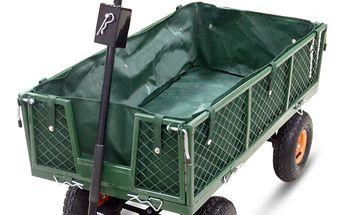 Velký zahradní vozík s výklopnými boky Sharks 360 Horneet SA041