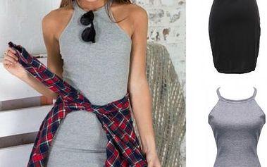 Jednoduché přiléhavé šaty Zoe