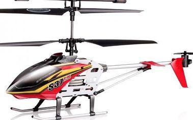 SYMA RAPTOR S37 2,4Ghz - střední RC vrtulník - červený SYMA - RC_16622