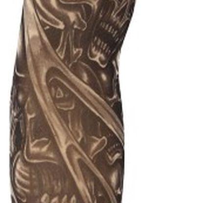 Tetovací rukáv s lebkami - 1 ks