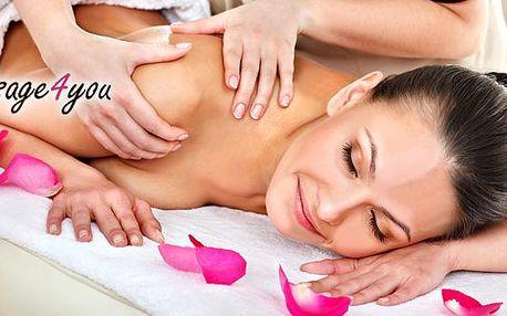 30min. masáž dle vlastního výběru: regenerační, relaxační, aroma, lymfatická a další