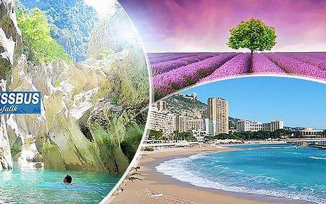 5denní zájezd do Francie vč. 2 nocí a snídaní, 12-16/10: Cannes, Provence, Marseille + Monako