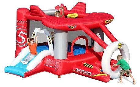 Skákací hrad Sharks - Hrací centrum Airplane Happy Hop BA011