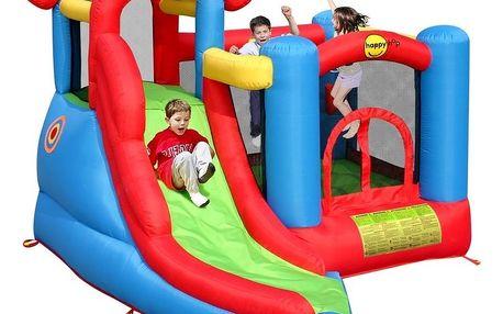 Skákací hrad Sharks - Hrací centrum 6 v 1 Happy Hop BA013