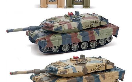 Velké soubojové tanky Leopard 2A6 - 2ks v balení RCobchod - RC_16954