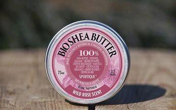 Bio bambucké máslo Sportique Wellness 75 ml - SLEVA blížící se datum spotřeby - Divoká růže