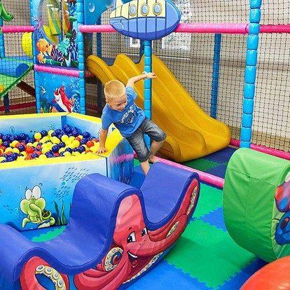 Den v dětském zábavním parku Pohádkové lázně