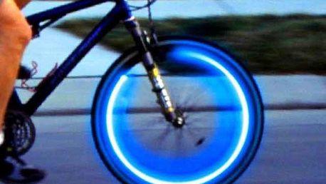 Svítící ventilky - modrá
