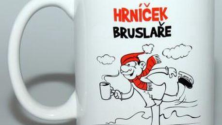 Vtipný hrnek - Bruslaře