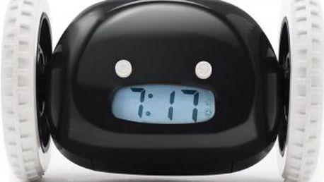 Budík Clocky - černá