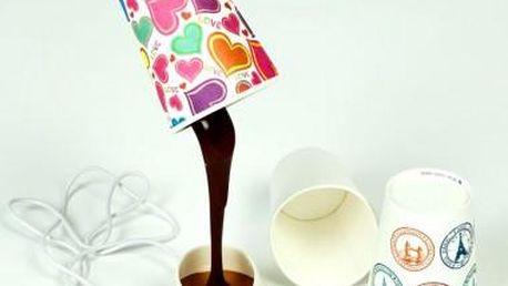 LED USB lampička - rozlitá káva