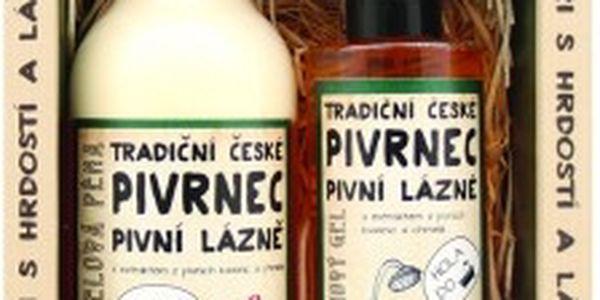 Pivrncova pivní kosmetika - gel+pěna+mýdlo