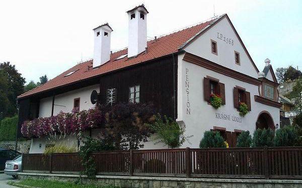 Pobyt pro dva v pensionu Krásné Údolí se snídaní, minibar; na 3, 4 nebo 5 dní v Českém Krumlově.