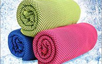 Speciální chladicí ručník s dlouhotrvajícím účinkem. Bude vás chladit až 4 hodiny nejen při fyzické zátěži.