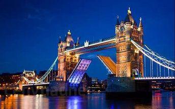Londýn s plavbou po řece. Autobusový zájezd s průvodcem.