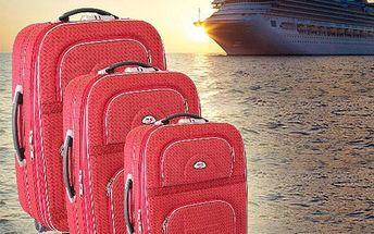 Sada kvalitních cestovních kufrů