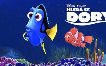 Vstupenka na film Hledá se Dory v kině Lucerna