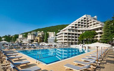 Chorvatsko - Remisens Hotel Admiral - Riviéra Opatija / bez stravy, vlastní doprava, 14 nocí, 1 osoba