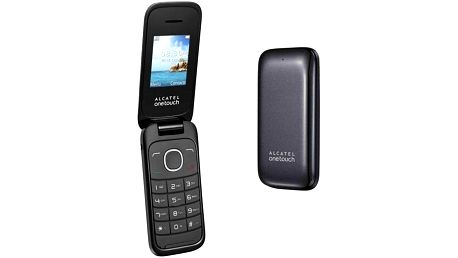 Mobilní telefon ALCATEL ONETOUCH 1035D Dual Sim (1035D-2CALCZ1) šedý