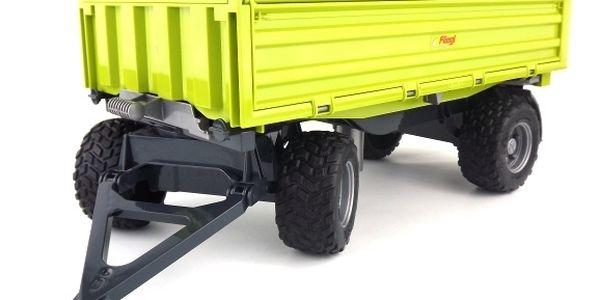 Sklápěcí vůz FLIEGL třístranný zelený BRUDER 2203