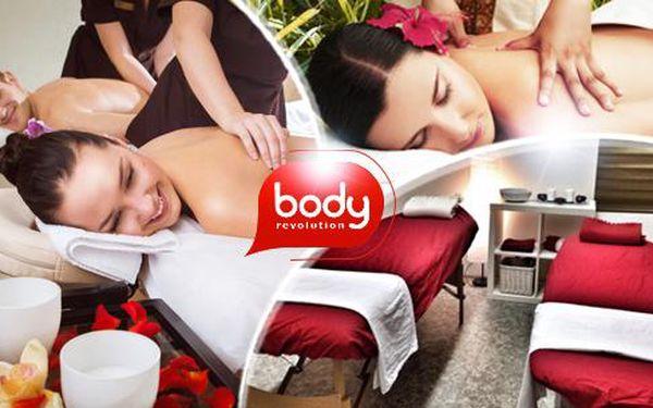 60min. thajská masáž pro 1 nebo 2 osoby ve studiu Body Revolution
